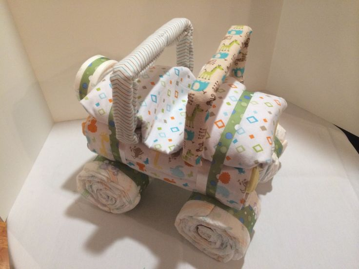 Diaper Jeep  - Safari http://PhenixDesigns.wix.com/home #Safari #Jeep #DiaperCake #BabyShower #PhenixDesigns #Phoenix888Designs