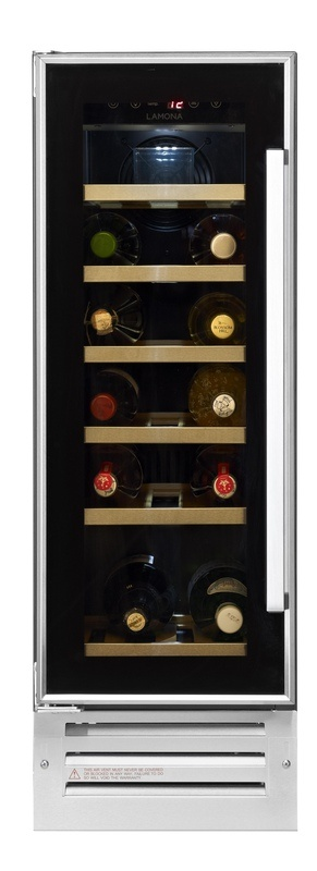 Howdens Lamona Wine cooler for Kitchenette in Boardroom, attractive and inexpensive