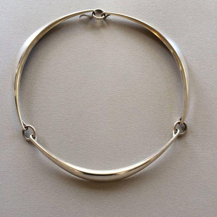 Hans Hansen Modernist Necklace | 1stdibs.com