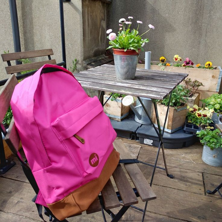 MiPac Pink Backpack