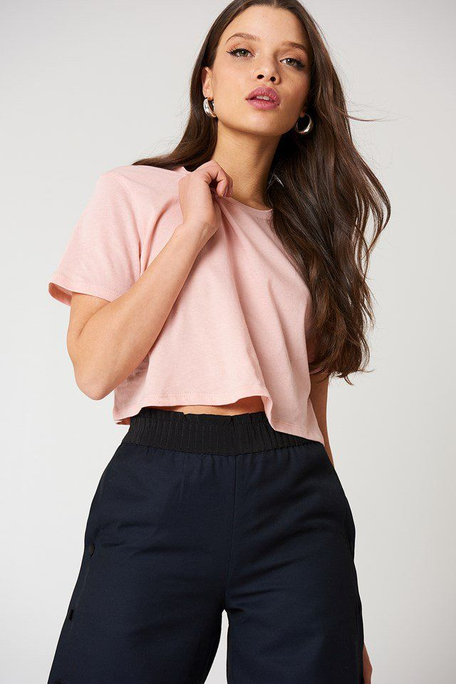 Jersey Tops | na-kd.com in 2020 | Jersey top, Basic ribbed