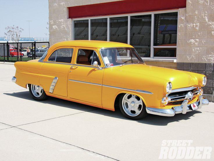 First spring lonestar nationals 1953 ford customline for 1953 ford customline 4 door