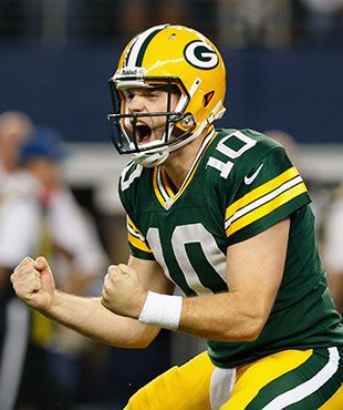 Matt Flynn does something neither Favre or Rodgers has done - wins in Dallas 37-36 - breaking a losing streak that goes back to 1989!