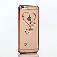 kaksinkertainen+sydän+ruutukuvioinen+pinnoitus+TPU+materiaali+puhelin+iPhone+6+/+6s+/+6+plus+/+6s+plus+(eri+värejä)+–+EUR+€+4.89