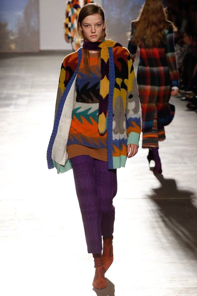 Missoni Fall 2017 Ready-to-Wear Fashion Show - Roos Abels