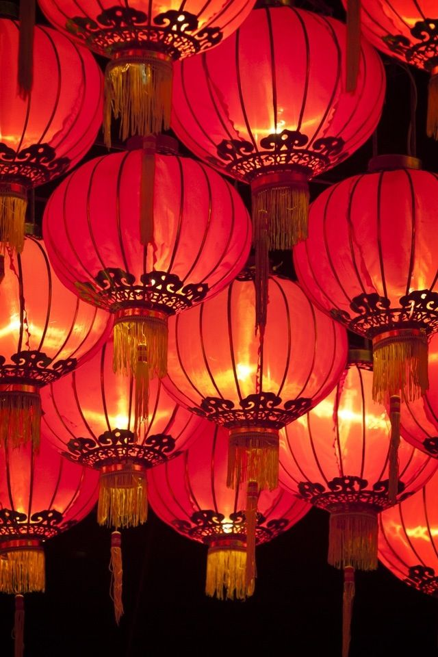 Chinese lanterns are the perfect way to bring an oriental touch to your home. Hang alone for a splash of style or lots together for an opulent feel.: