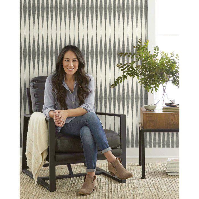Handloom 33 L X 20 5 W Wallpaper Roll Magnolia Homes Joanna Gaines Wallpaper Joanna Gaines