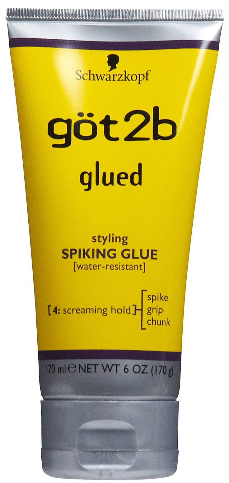 got2b glued hair styles got2b glued styling spiking glue great for spiking hair 4070 | f1960e1caa2cde9d0560fc71fac54026