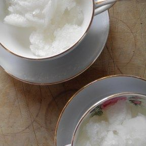 Prosecco and elderflower sorbet | The View From the Table