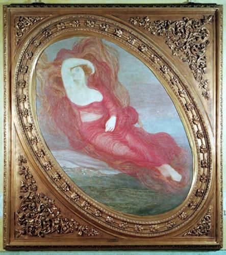 Dea dell'Amore di Giovanni Segantini, presso Galleria d'Arte Moderna di Milano