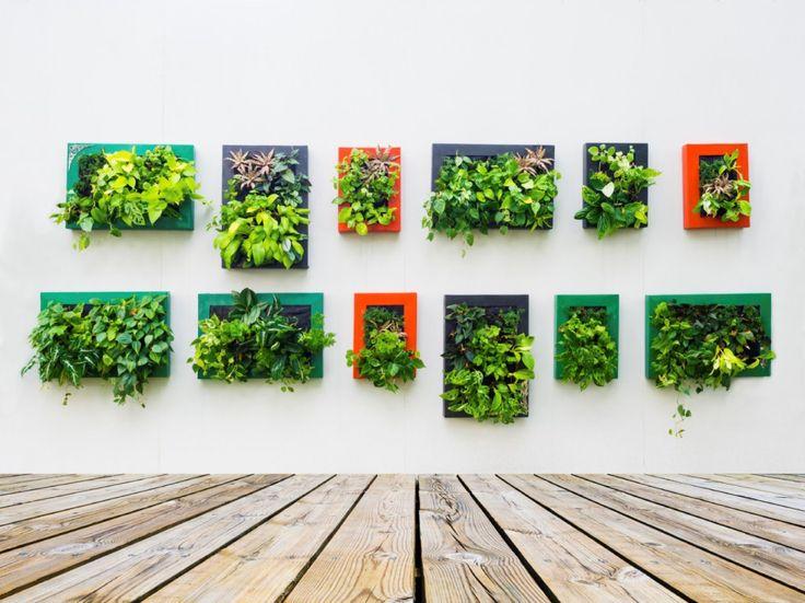 Die 25+ Besten Ideen Zu Vertikal Garden Auf Pinterest ... Vertikale Garten Ideen Garten Balkon