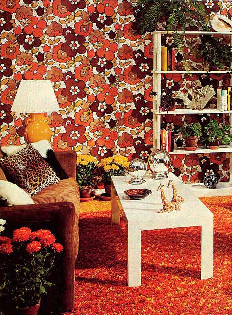 This Wallpaper From The '60s And '70s Will Make You Want To Redecorate Now - BuzzFeed