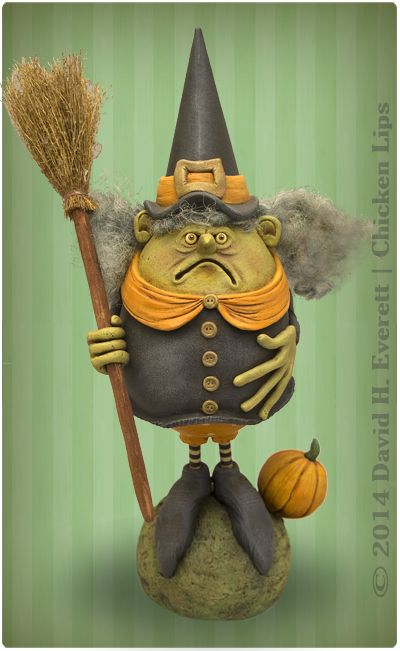 WIlma the Witch - From David H. Everett | Chicken Lips
