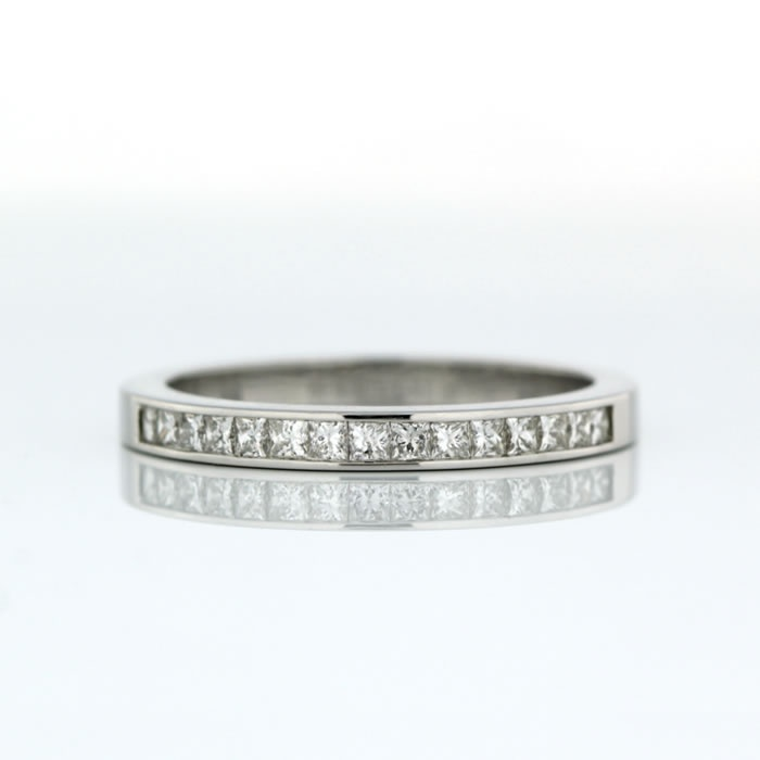 Cool Channel Set Wedding Ring ct White Gold Channel Set Wedding Ring Product reference