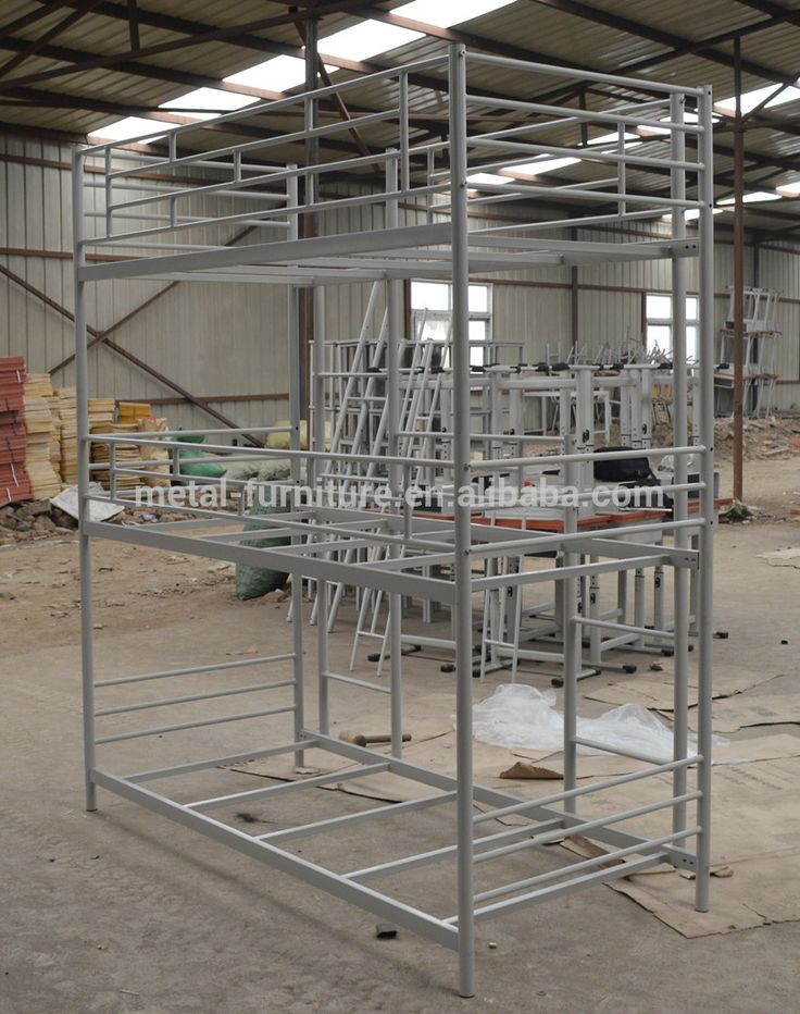 High Quality Army Bed Design Adult Iron Steel Bunk Bed For