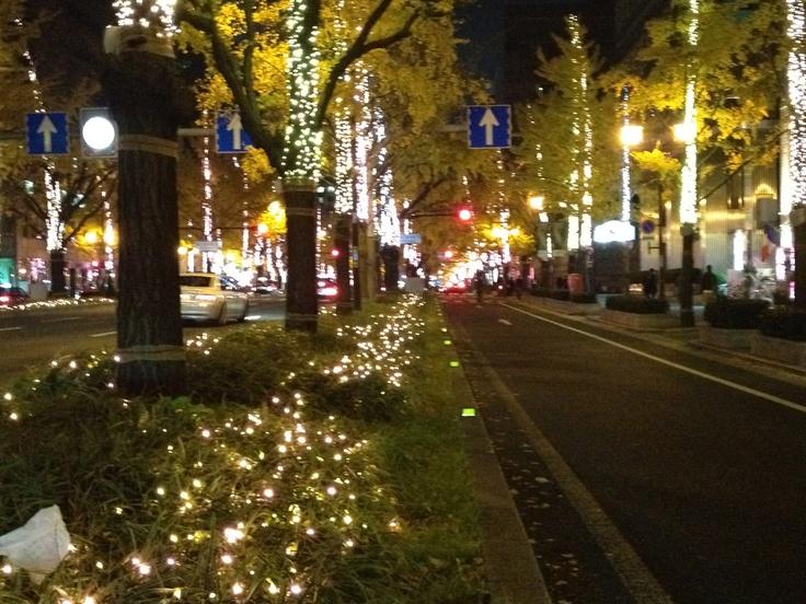 Midosuji Illumination 2011  http://osaka-chushin.jp