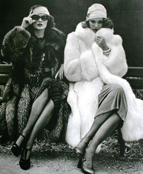 Linda Morand on Left Marie Claire Magazine Paris 1974