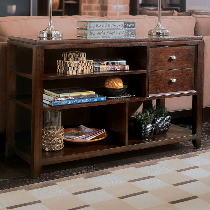 console table the american drew tribecca rectangular console table is a satisfying console table thatu0027s bound to be a smooth addition to your home
