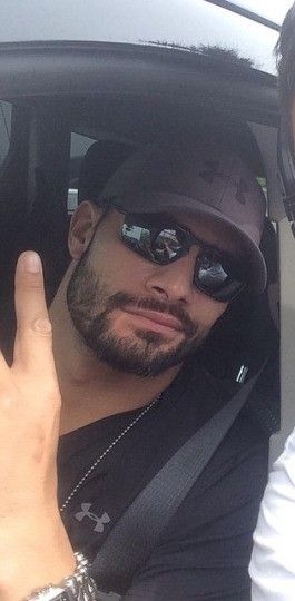 Joe Anoa'i aka Roman Reigns. Sexy in shades!