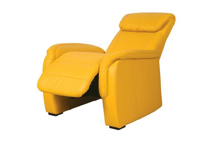 HOME CINEMA, to fotel zaprojektowany z myślą o komforcie. Siedzisko z funkcją relaksu i regulowanym zagłówkiem umożliwiają ustawienie ich w dowolnej pozycji, 104/95/91. Od 1.273 zł, Etap Sofa