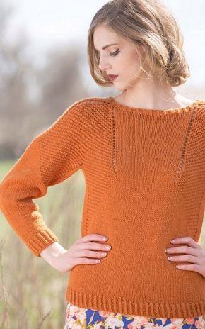 Вязание модного пуловера Модный пуловер связан спицами из пряжи оранжевого цвета. Для этого пуловера выбрали пряжу такого состава: 70% мериносовая шерсть и 30% пряжи беби альпака. Также вам понадобятся круговые спицы диаметром 5,5 миллиметров длиной 40 и 60 сантиметров, и комплект двухсторонних спиц. Пуловер вяжется по кругу, сверху вниз, при вязании кокетки следует перейти на более длинные спицы. Это пуловер имеет среднюю сложность и будет под силу также и начинающим вязальщицам. Как…