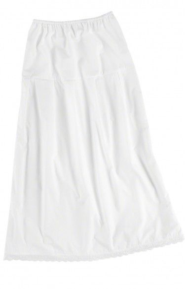 German traditional long underskirt U25 white