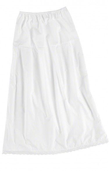 German traditional long underskirt U25 white