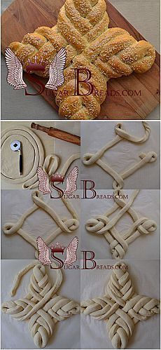 Genial: Brot unendlich Knoten   – backen