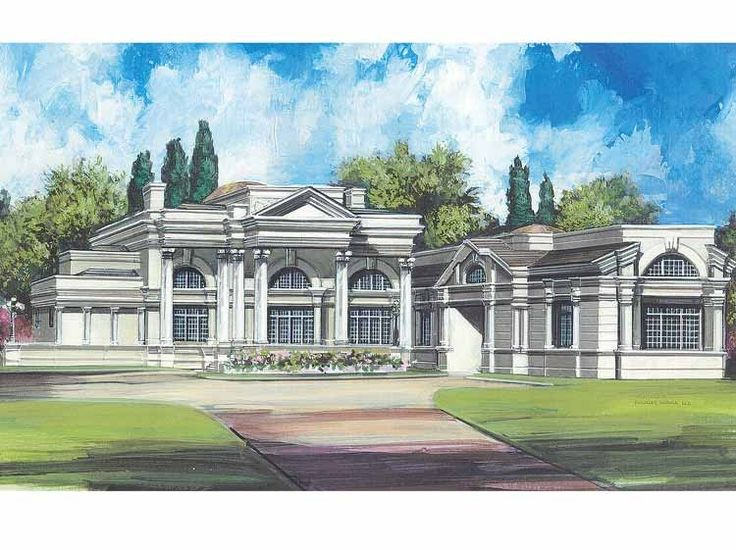 Best House Plans Images On Pinterest Dream House Plans Dream - Neoclassical house plans