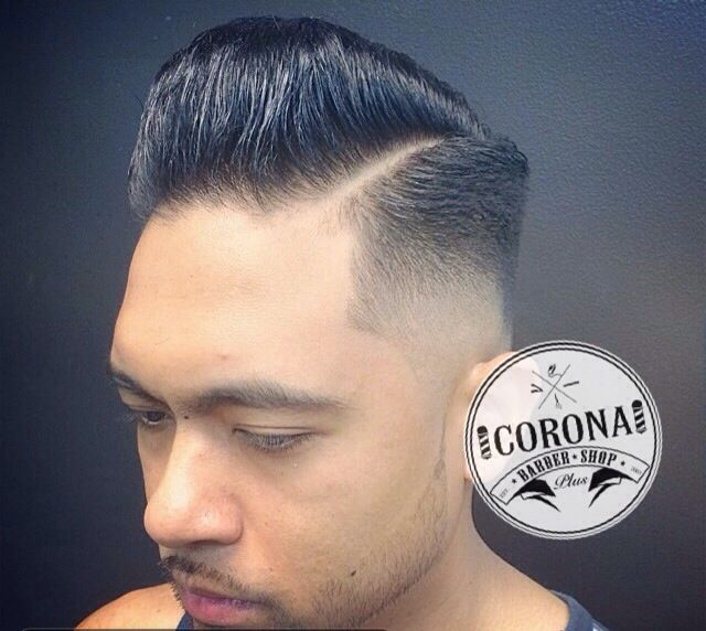 Pompadour Styled Skin Fade With Light Beard Shave