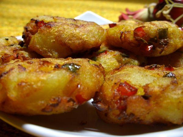 recette Croquettes de pommes de terre aux poivrons : Entrée chaude, Cuisine Femme Zoom, Recettes de cuisine ...