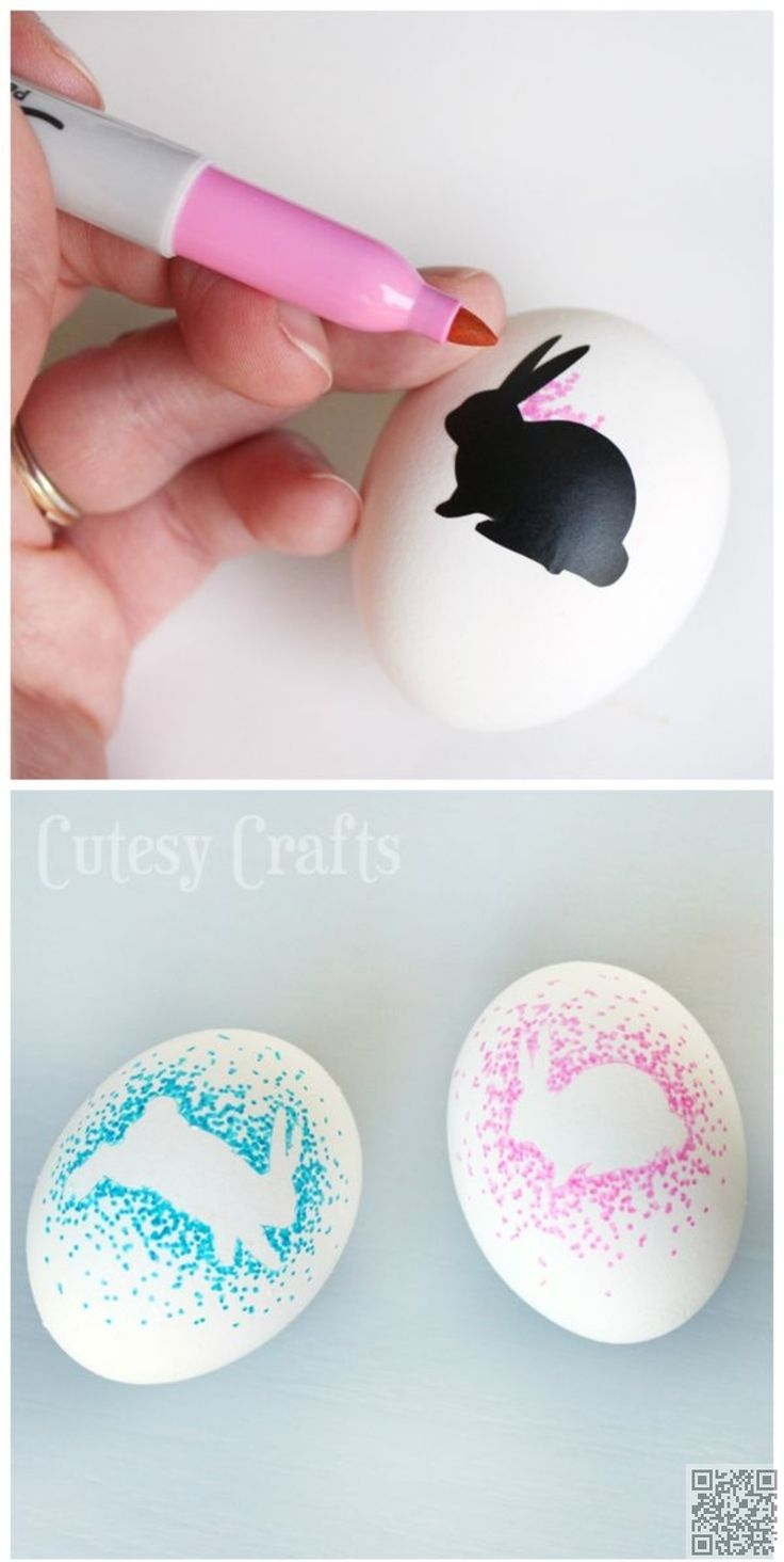 14. Sharpie #Bunnies - Dozens of #Easter Eggs and Not a Bit of Chocolate in…