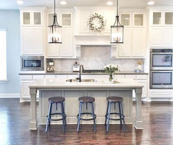 Kitchen Remodels Ideas With White Cabinets: 48 Stylish White Kitchen Cabinets Decor Ideas