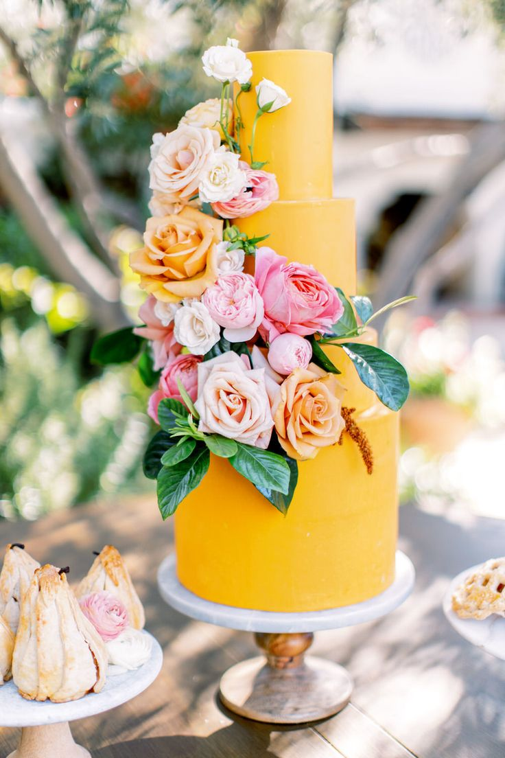 Sappige Citrus Colour Wedding-inspiratie in Arizona