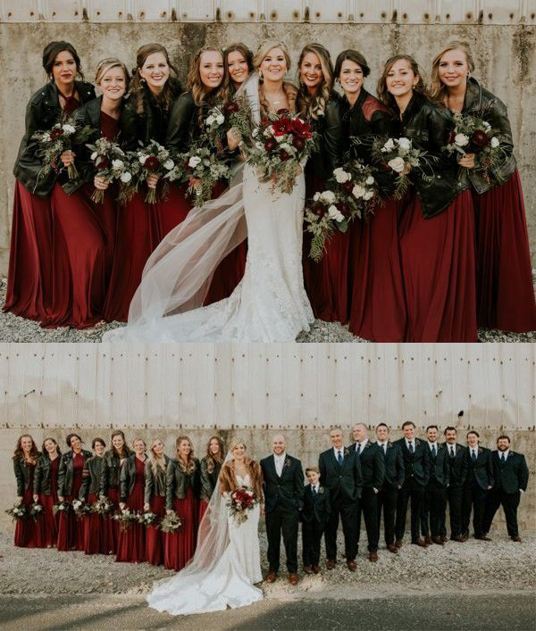 Bridesmaids Dresses with Jackets
