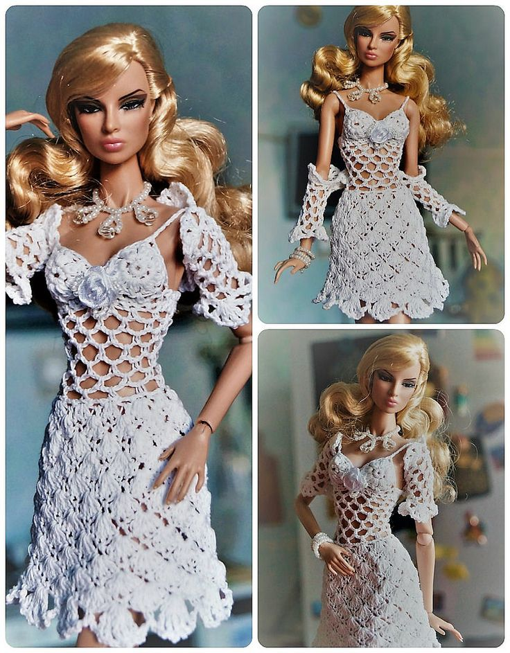 https://flic.kr/p/QkQTiy | Outfit dress and bolero clothes for Fashion Royalty, Poppy Parker, Barbie, FR2 | www.ebay.com/itm/112243103126?ssPageName=STRK:MESELX:IT&a...