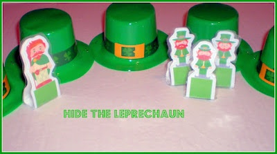 Hide the leprechaun... and more learning activities with these cute little hats!