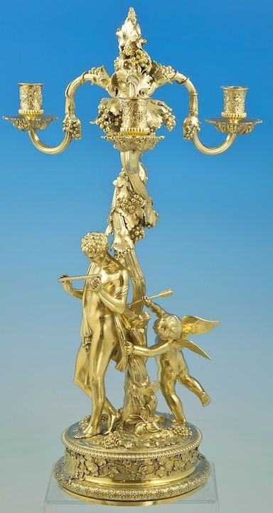 A Pash and Sons - Fine Antique Silver, Objet d'art, fine bronzes, & furniture