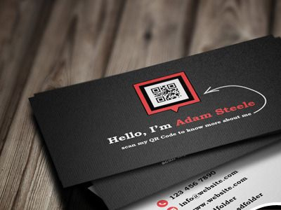 16 best qr code business cards images on pinterest qr codes qr qr code business card idea click picture to see 40 more colourmoves