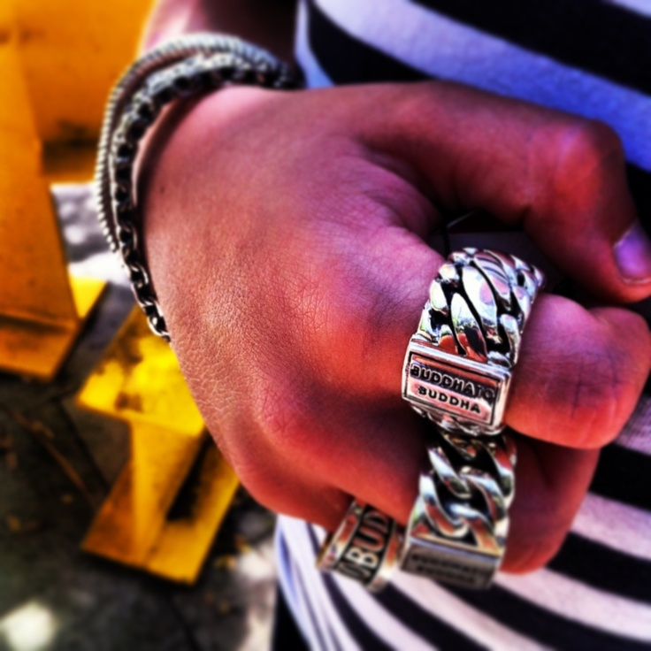 Ben, chain and Sanne ring by Buddha to Buddha