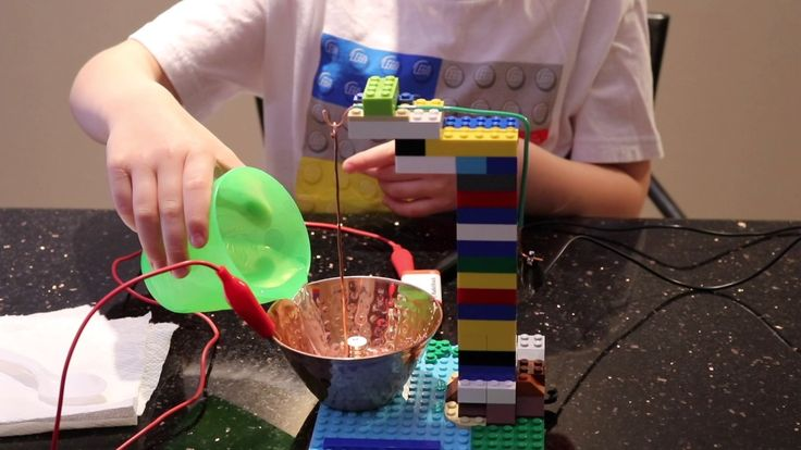 STEM - Michael Faraday's 1st Motor From Lego Bricks Inspired by Dr Marty...