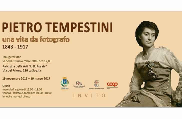 #LaSpezia - #Giovedì in Palazzina la presentazione del catalogo della mostra - lì esposta - sul fotografo Pietro #Tempestini in un evento tutto dedicato