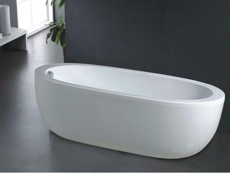 B528 cheap freestanding bathtub deep soaking bathtub for Best soaker tub for the money