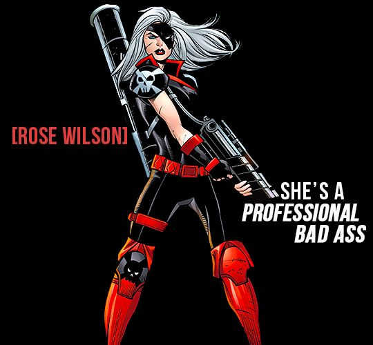 Ravager (Rose Wilson) Its tru tho would totally cosplay as her :O