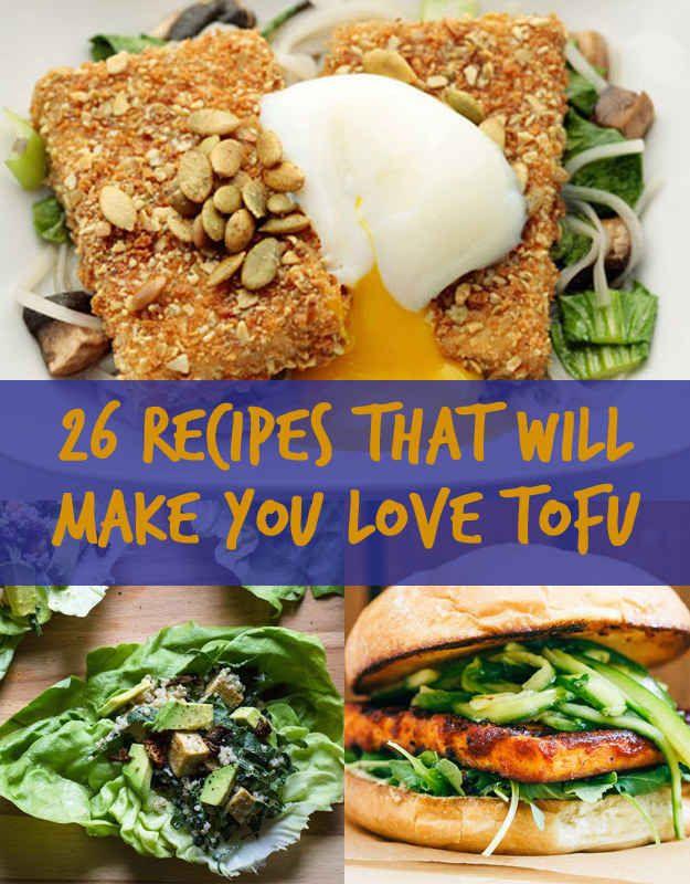 26 recepten mét tofu! ~ C
