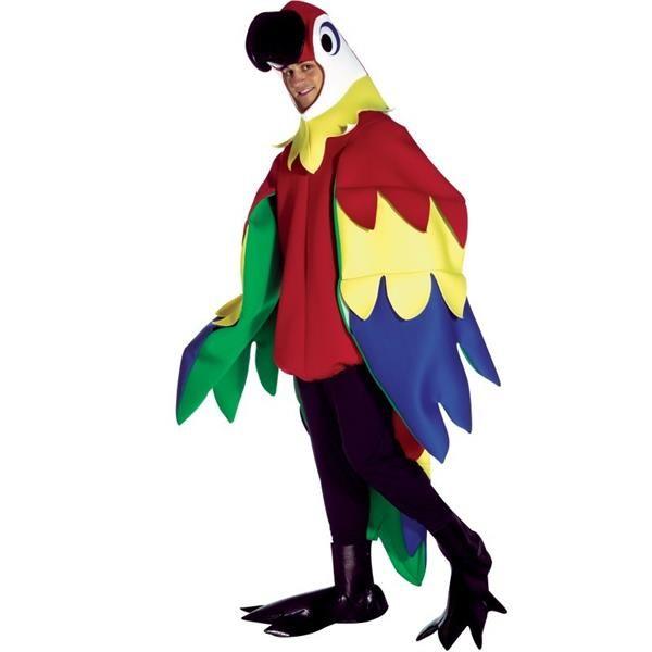 Попугай костюм