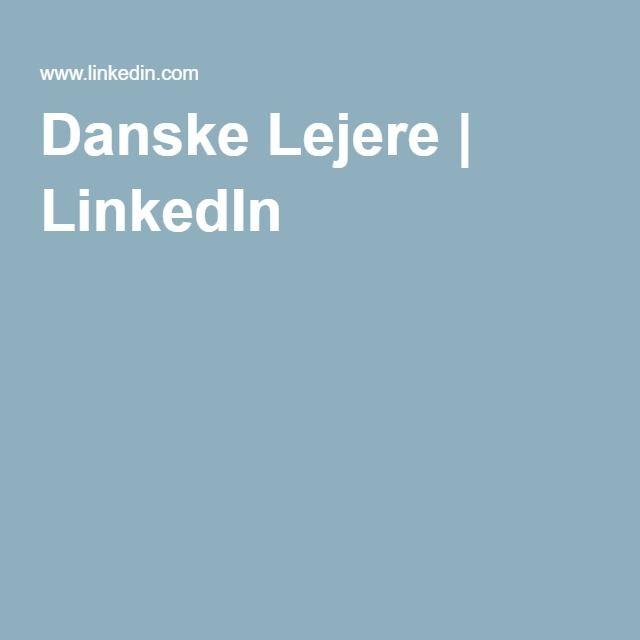 Danske Lejere | LinkedIn