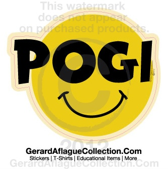 Gerard Aflague Collection Store - Pogi (Handsome) Sticker - Indoor/Outdoor Sticker Decal, $5.00 (http://www.gerardaflaguecollection.com/copy-of-got-tabu-indoor-outdoor-sticker-decal/)
