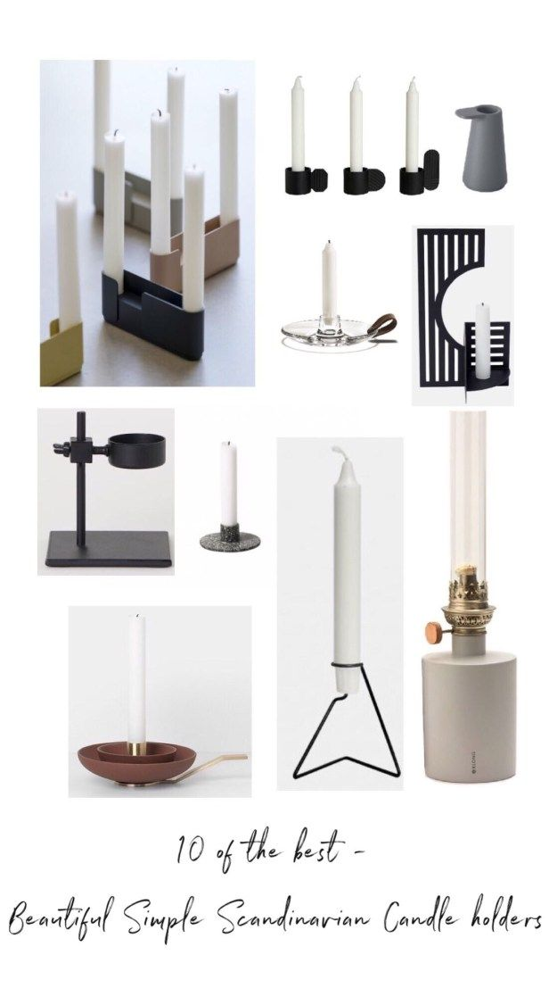 Ten Of The Best Beautiful Simple Candle Holders Scandinavian Candle Holders Modern Candle Holders Candle Holders