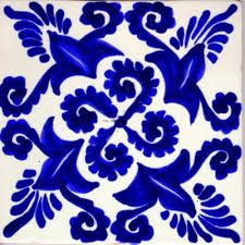 Talavera tile from Mexico
